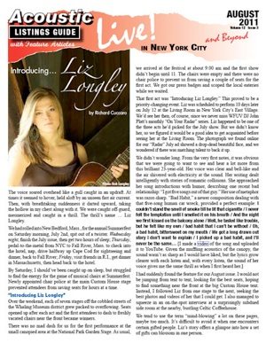 Introducing Liz Longley By Richard Cuccaro The Voice