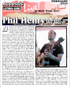Phil Henry A Rider On The Storm By Richard Cuccaro At