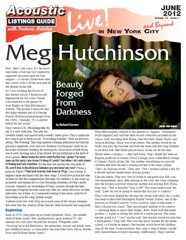 Meg Hutchinson Beauty Forged From Darkness By Richard