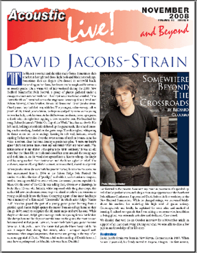 David Jacobs Strain Somewhere Beyond The Crossroads By